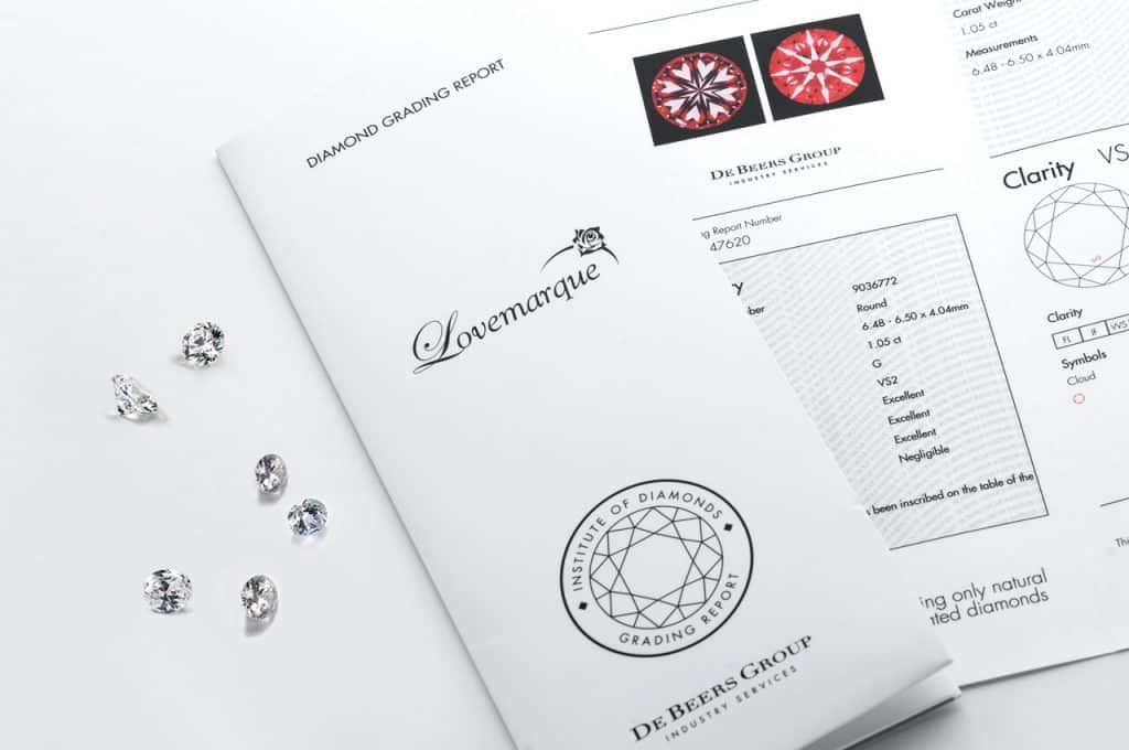 Best Diamond Certification Singapore